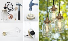 Reciclar potes de cristal/ Recycle glass jars  #recycle design
