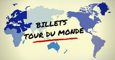 Un billet tour du monde ? Est-ce une bonne chose ? Et comment l'acheter ? Voici un topo sur la question des billets d'avion pour un tour du monde !