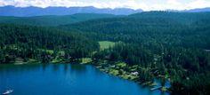 Flathead Lake Lodge - Bigfork, MT. All inclusive family resort