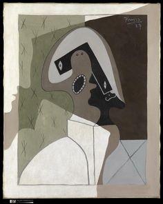 Picasso/Arlequinm 1927