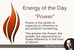 As our Power increases, we have the incredible, joyful, wonderful opportunity to raise the vibration of others! Are you using your Power in an impactful, positive way?