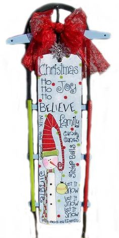 Pattern Christmas Christmas Pattern Painting by BoutiqueWhimsy, $5.00