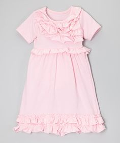 This cotton confection is princess-perfect and soft as a candy cloud. Its smooth construction keeps it comfy for playtime, and oodles of ruffles make it fancifully frilly and sweet as can be. Pink Ruffle Dress, Ruffles, Future Baby, Infant, Girls Dresses, Gems, Comfy, Cotton, Fashion