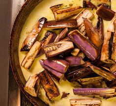 Eggplant Curry with Lemongrass and Coconut Milk Recipe - Chowhound