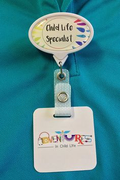 Life Specialist Badge Reel - Child life specialist badge reel -Child Life Specialist Badge Reel - Child life specialist badge reel - Child Life Specialist Puzzle Piece Teach children to self-regulate, manage their emotions, d. Child Development Psychology, Child Life Specialist, How To Express Feelings, Future Jobs, Work Activities, Childrens Hospital, Badge Reel, Social Skills, Getting Old