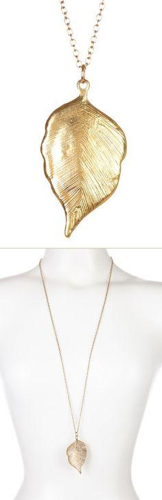 Fallen Leaf Necklace