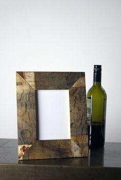 Wine Barrel Picture Frame - 5 x 7
