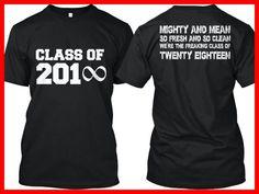 2018 Senior Year Tee | Senior year, Senior shirts and Cricut
