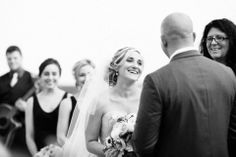 making me laugh at the altar - Heather Curiel photography