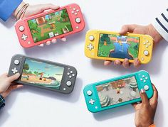 NEW Nintendo Switch Lite Handheld Game Console + Animal Crossing Game Nintendo Lite, Nintendo Switch System, Nintendo Games, Nintendo Consoles, Games For Kids, Diy For Kids, Xbox One S 1tb, Handheld Video Games, Nintendo Switch Accessories