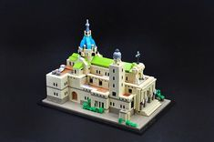 Tiny LEGO version of Manila Cathedral