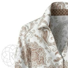 "Coldwater Creek Brn & Wht Paisley No Iron Shirt Lovely Brown & White Paisley No Iron Shirt.  ▪ CWC Size Small = Size 6 - 8  ▪ Bust: 38"" inches   All measurements are approximate    Brand New with Tag & extra button. Never worn   ✨ FINAL PRICE ~ NO OFFERS ✨      PRICE IS FIRM unless bundled     All Sales Final 