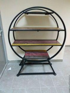 Купить Стеллаж лофт - лофт, лофт стиль, лофт мебель, лофт интерьер, стеллаж для книг