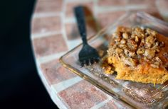 Sweet Potato Casserole with Pecans & Brown Sugar