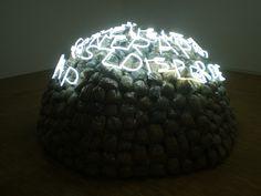 Mario Merz 'Igloo di Giap' | Flickr: Intercambio de fotos Robert Morris, Giuseppe Penone, Neo Dada, Louise Bourgeois, Art Moderne, Italian Artist, Fire And Ice, Light Installation, Land Art