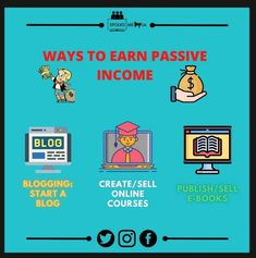 """Passive income is earnings derived from a rental property, limited partnership, or other enterprise in which a person is not actively involved. 1. Selling information products. 2. Rental income. 3. Affiliate marketing. 5. Peer-to-peer lending. """"Many people think that passive income is about getting something for nothing,"""" Tresidder says. """"It has a 'get-rich-quick' appeal … but in the end, it still involves work. You just give the work upfront."""" . . . #passiveincome #investor #realestate…"""