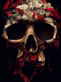 the blood drains down like devil's rain by Alberto Seveso, via Behance
