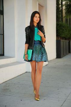 Modish Inspirations - Beautiful Way To Wear Sparkle Skirts - Be Modish  #BeModish #fashion #sparkle
