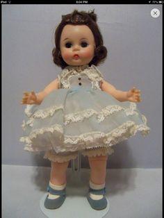 50's party dress  I had Wendy dolls when I was little. Wish I still had them.