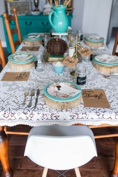 Thanksgiving table i