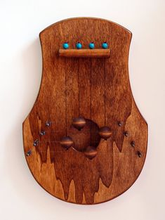 Beautiful. Practical. Make a door harp tutorial. Woodwork. DIY ...