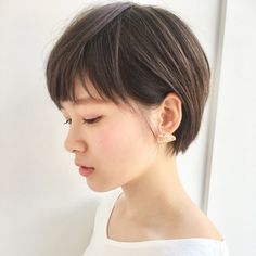 Easy Short Hair Updos That Will Take Eight Minutes or Less – HerHairdos Short Hair Styles Easy, Short Hair Updo, Short Hair Cuts For Women, Girl Short Hair, Short Bob Hairstyles, Hairstyles Haircuts, Cool Hairstyles, Corte Y Color, Asian Hair