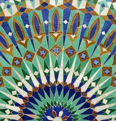Moroccan pattern // Patrón Marroquí