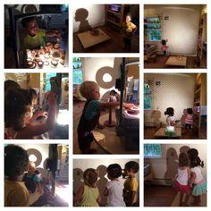 Garden Gate Child Development Center Martha's Vineyard Overhead Projector, Garden Gates, Light And Shadow, Child Development, Reflection, Martha's Vineyard, Mirror, Children, Shadows