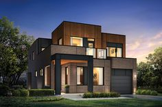 Mattamy Homes in Toronto Downsview Park: The City Park - Elevation B