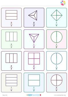 Custom worksheets, teaching resources, printable games and manipulatives. Printable Worksheets, Printables, Worksheet Generator, Fractions, Mathematics, Teaching Resources, Teacher, Maths, Science
