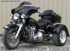 Frankenstein Trike Kit on harley-Davidson Roadking Trike