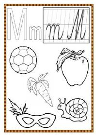 EDUCATIA CONTEAZA : PLANSE CU LITERE - DE COLORAT Printable Alphabet Worksheets, Printables, Bts, Print Templates
