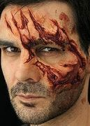 Gelatin makeup effects and tutorials.  I want to do this someday.  Halloween would be so much cooler...