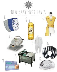 9 New Baby Must Haves