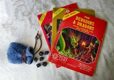 Original Dungeons and Dragons Basic Rule Book - 1981 - Plus 2 Dugeon Modules | Flickr - Photo Sharing!