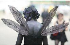 For black whimsical wings?