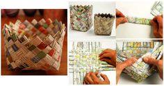 MENTŐÖTLET - kreáció, újrahasznosítás: Papírfonás alapjai