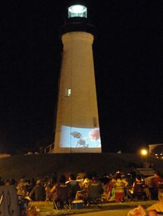 Movie at the Lighthouse in Port Isabel, TX Waltz Across Texas, Port Isabel, Texas Coast, South Padre Island, Texas Travel, Water Tower, Stars At Night, Light House, Corpus Christi