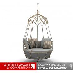 Viewing Gravity Swing sofa at A' Design Award. Design Awards, Design Trends, Profile Design, Inventions, Hanging Chairs, Indoor, Furniture, Home Decor, Interior