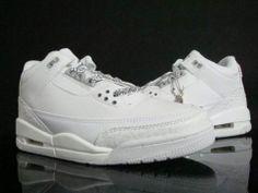10434fa6466d17 Nike Air Jordan Cement 3 III Retro Mens ShoeWhite Cheap Sale Online Cheap  Air Max 90