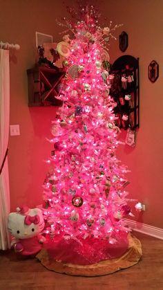 My Hello Kitty Christmas Tree!!