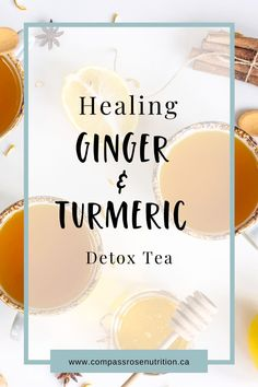 So much hype around Turmeric and rightly so! Turmeric and ginger are rich in anti-oxidants and have properties that reduce inflammation. The healing ginger and turmeric detox tea will help cleanse and warm your body. Give it a try now.detoxtea #detox #detoxrecipe #herbalteas