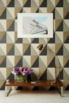New Collection Cole & Son Geometric 2: Apex Grand. Now available in our online shop: ethnicchic.com
