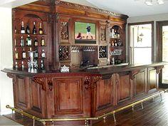 creative home bar ideas |  superb wood home bar, and interior