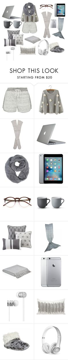 """""""Silver goals."""" by beky77 ❤ liked on Polyvore featuring Calvin Klein, Free People, Speck, Wildfox, Stelton, Madison Park, Harrods, Beats by Dr. Dre, Kathy Ireland and Bedroom Athletics"""