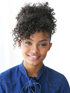 13 Women Who Are Pure Curly-Hair Inspo: Yara Shahidi | allure.com