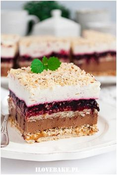 Sezamowiec bez pieczenia - I Love Bake Cake Bars, Dessert Bars, Sweets Recipes, Cookie Recipes, Food Carving, Good Food, Yummy Food, Happy Foods, Desserts To Make