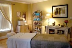 Massage Room  Evergreen Cottage  Ely, Minnesota