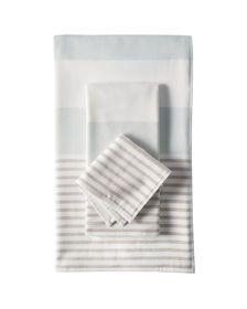Fouta Bath Towels - Aqua