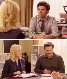 Happy Ron • Parks and Rec